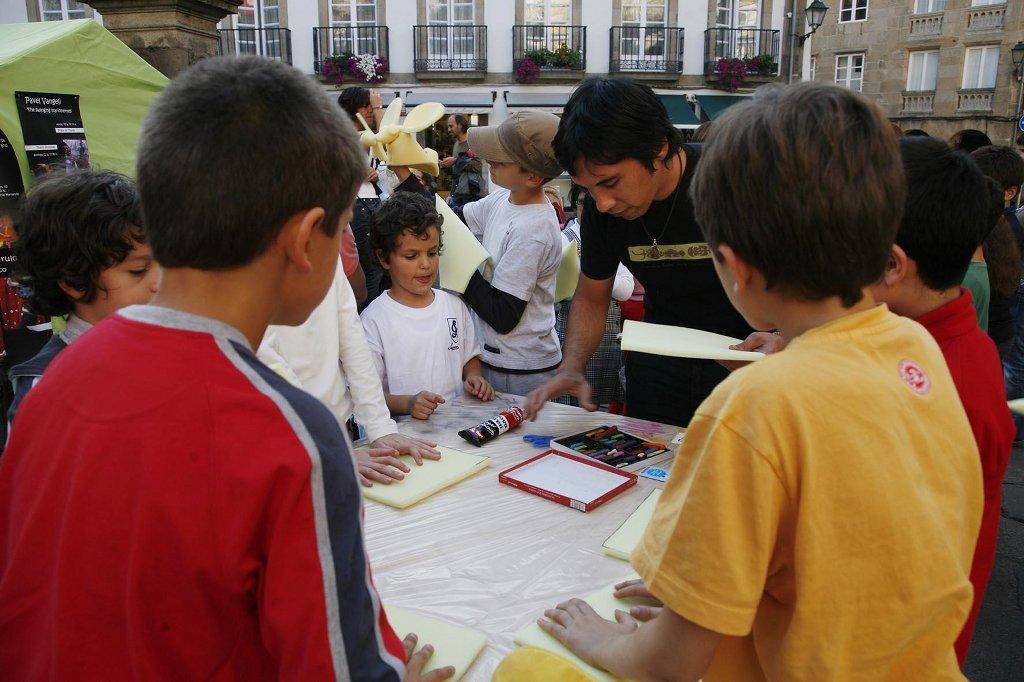 Talleres infantiles en Galicreques 2010